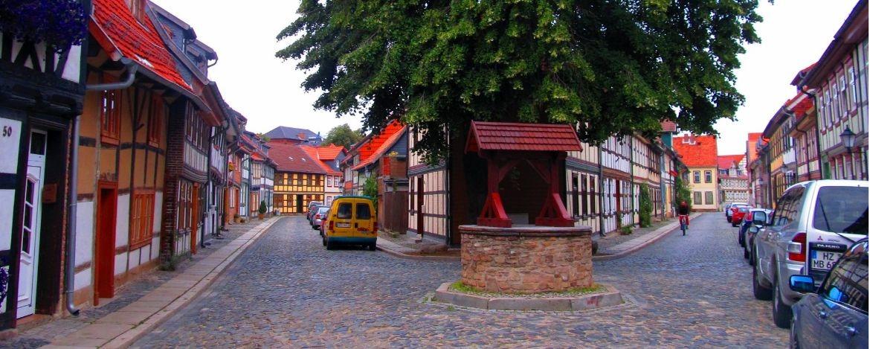 das Heideviertel, der älteste Teil der Stadt