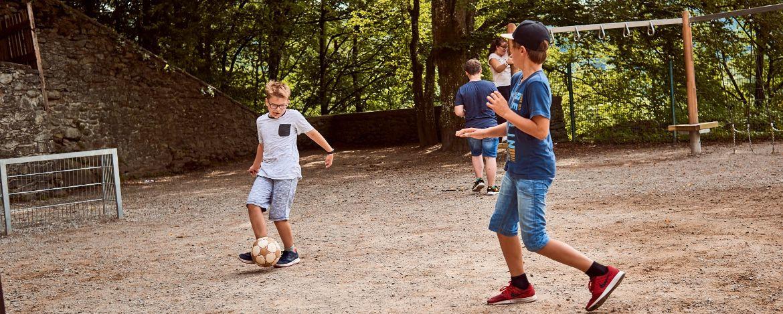 Klassenfahrten Bilstein, Burg