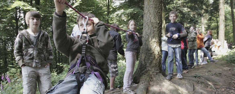 Fahrt mit der Schwebebahn Wuppertal.