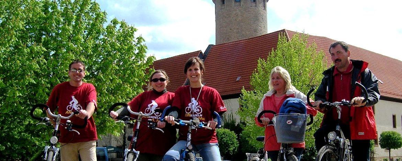 Radfahren rings um Kretzschau