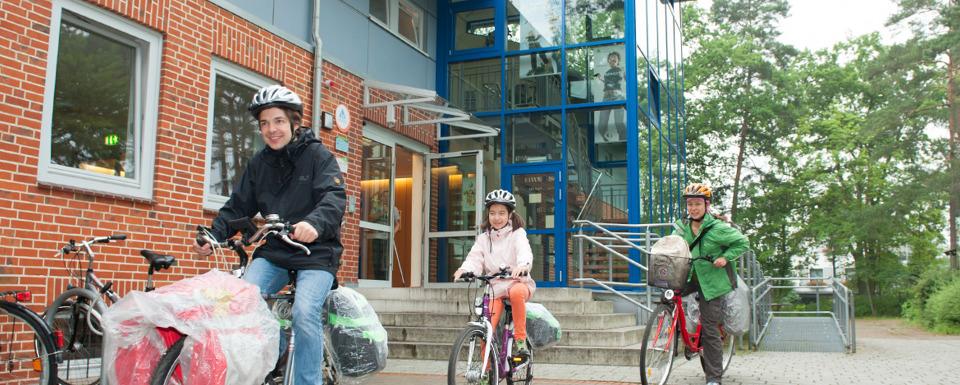 Fachwerkhäuser am Stint
