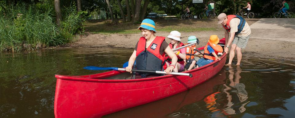 Surfer auf dem Steinhuder Meer