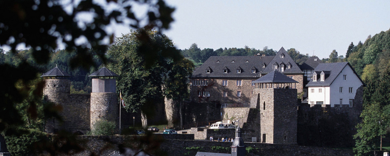 Porträt Monschau-Burg