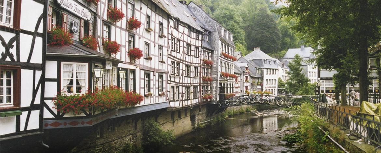 Historische Häuser in Monschau