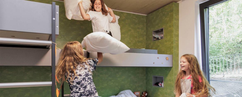 Für Klassenfahrten gilt: 2 Freiplätze pro Klasse inklusive!