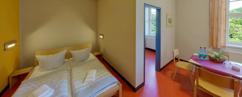 Familienzimmer Jugendherberge Schloss Colditz