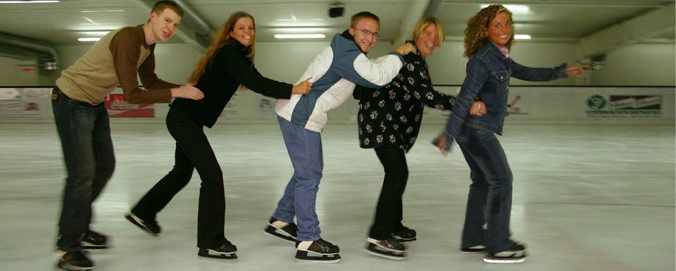 Salztal Paradies - Eislaufhalle