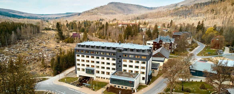 Eingang der Jugendherberge Schierke