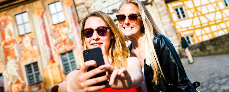 Die besten Selfies macht man in Bamberg