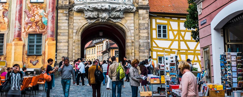 Das Stadttor in Bamberg