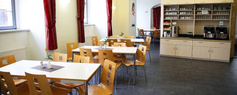 Speisesaal in der Jugendherberge