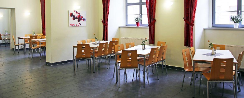 Speiseraum Jugendherberge Wittenberg
