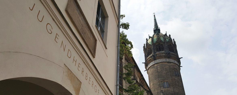 Die Jugendherberge direkt an der Schlosskirche