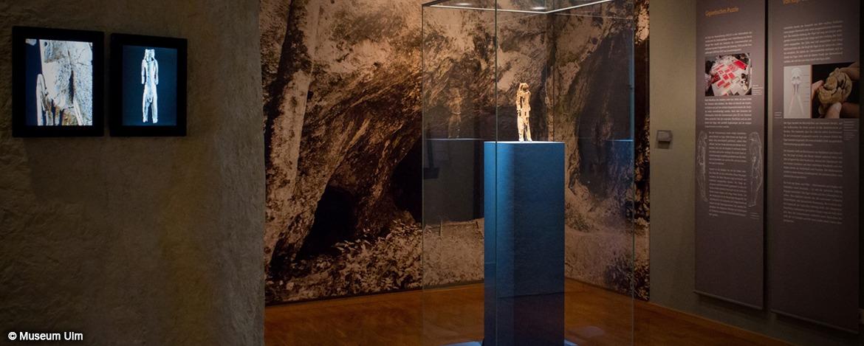 Löwenmensch im Museum Ulm