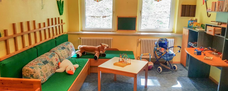 Unser Familien- und Spielzimmer