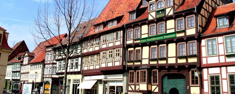 Mehr als 1300 Fachwerkhäuser gibt es in Quedlinburg