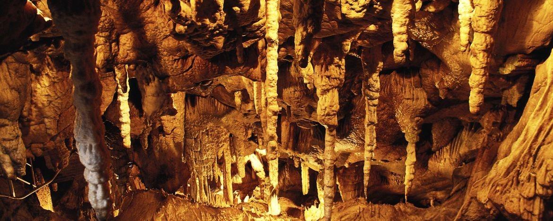 Tropfsteinhöhle im Rübeland