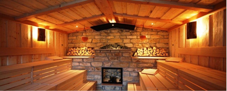 Eine der 6 Saunen in der Bodetal Therme Thale
