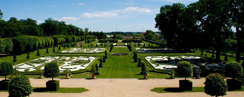 Barockgarten von Schloss Hundisburg