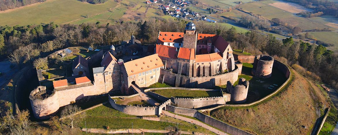 Youth hostel Burg Breuberg