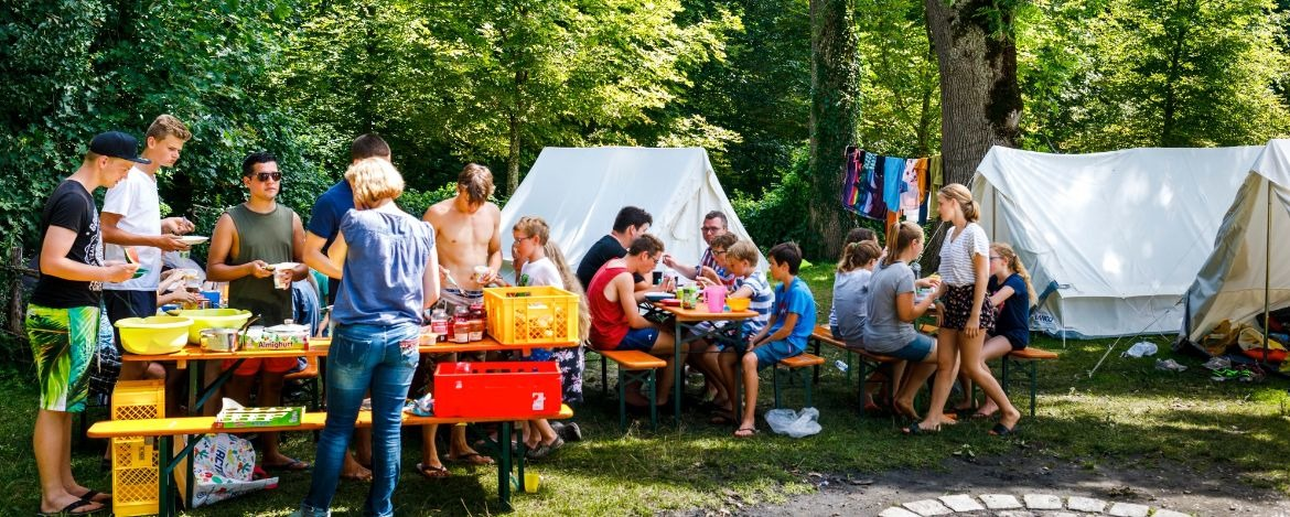 Catering at Possenhofen Youth Campsite