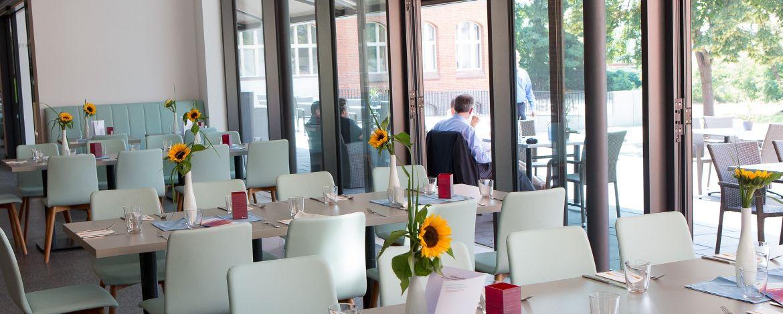 Loungebereich der Jugendherberge Berlin Ostkreuz
