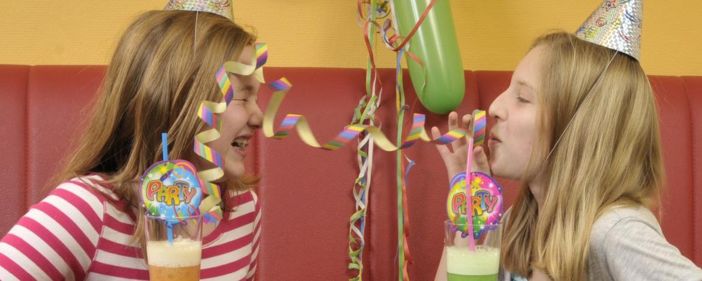 Leuchtende Kinderaugen beim Kindergeburtstag