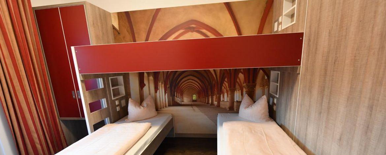 Zimmer in der Jugendherberge Leutesdorf