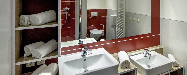 Bad in der Jugendherberge Leutesdorf