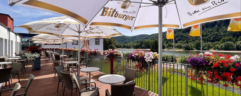 Tagungsraum der Jugendherberge Leutesdorf
