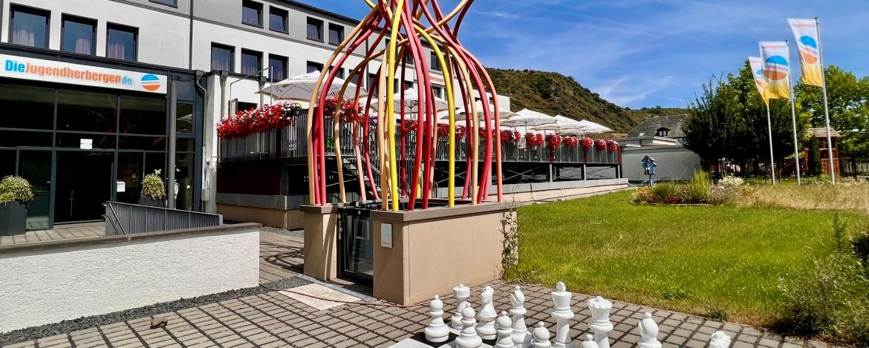 Kinderspielecke in der Jugendherberge Leutesdorf