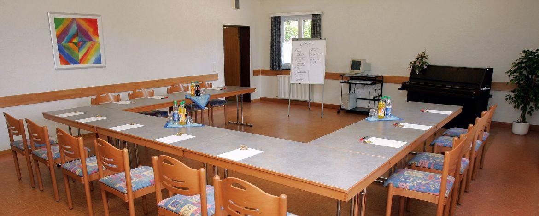 Tagungsraum der Jugendherberge Dahn