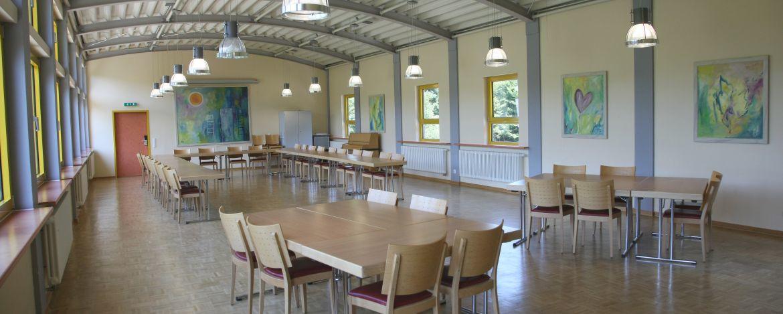 Tagungsraum der Jugendherberge Dreisbach