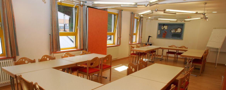 Seminarraum der Jugendherberge Dreisbach