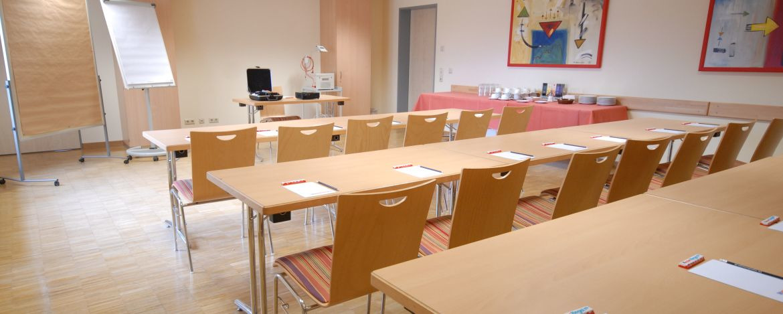 Tagungsraum der Jugendherberge Homburg