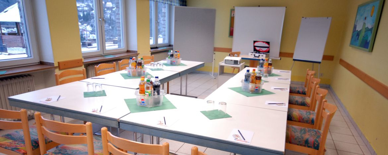 Tagungsraum der Jugendherberge Idar-Oberstein