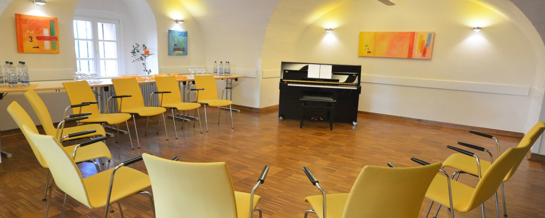 Musikprobe in der Jugendherberge Koblenz