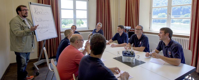 Seminar in der Jugendherberge Leutesdorf