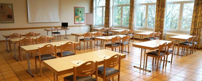Tagungsraum der Jugendherberge Mainz