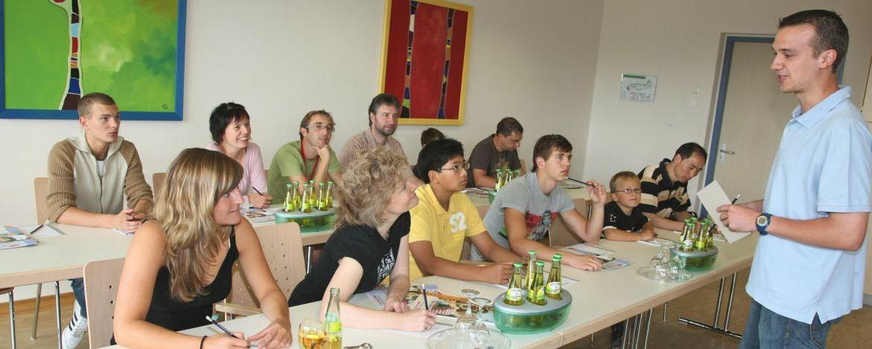 Seminar in der Jugendherberge Prüm