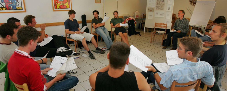 Tagungsraum der Jugendherberge Speyer