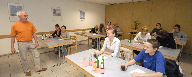 Seminar in der Jugendherberge Weiskirchen