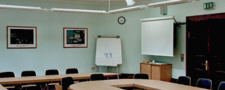 Seminarraum der Jugendherberge Hümpfershausen