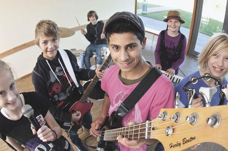 Band zu Gast in der Jugendherberge Xanten