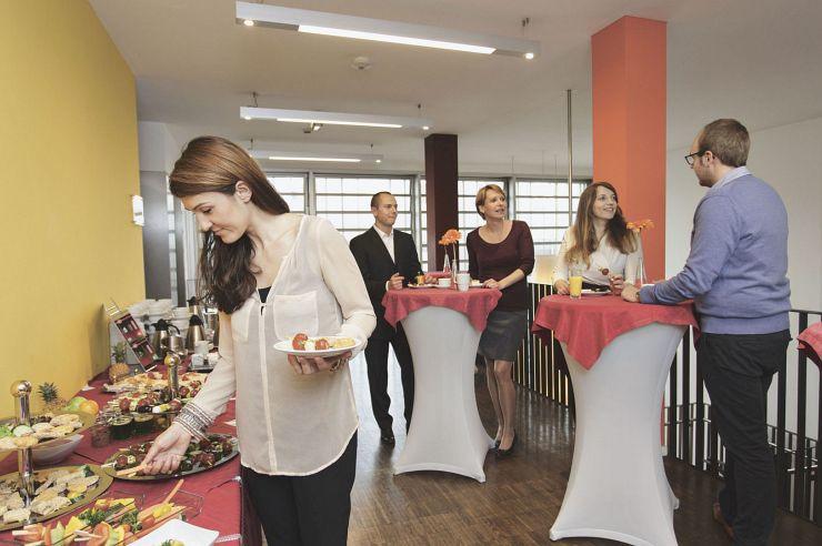 Vorraum der Tagungs- und Seminarräume der Jugendherberge Düsseldorf