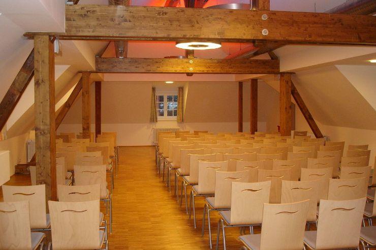 Probenraum in der Jugendherberge Bad Hersfeld