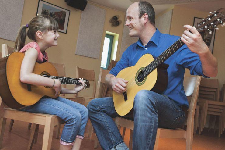 Musikprobe in der Jugendherberge Kleve