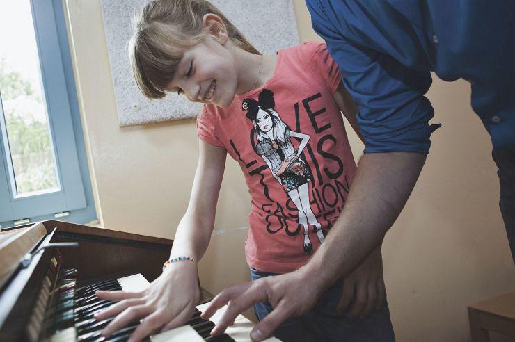 Musizieren in der Jugendherberge Kleve