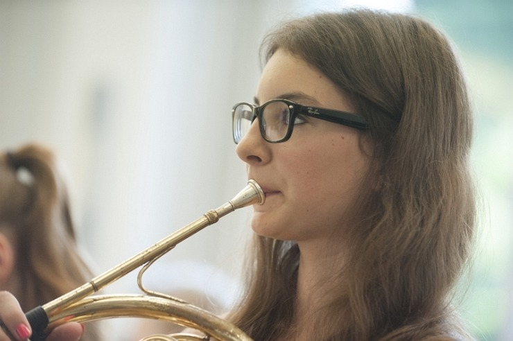 Musikprobe in der Jugendherberge Lindlar
