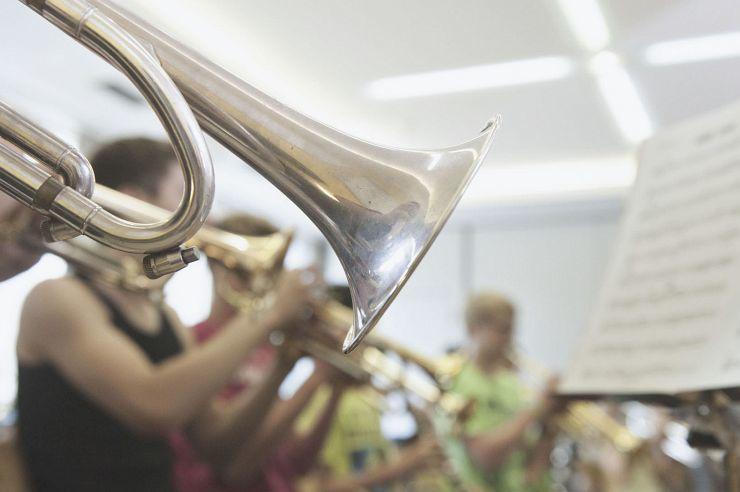 Orchester zu Gast in der Jugendherberge Monschau-Hargard